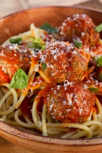 Food Styling - Meatballs