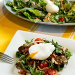 Food Styling - Poached Egg Salad
