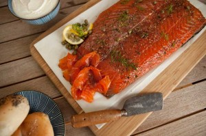 Food Styling - Pernod Gravlax