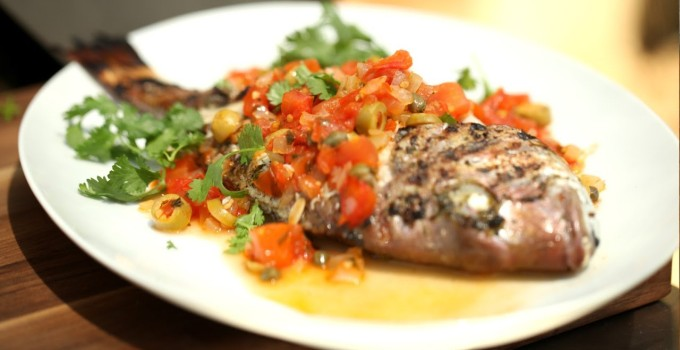 Veracruz-Style Grilled Fish (Pescado Veracruzano)